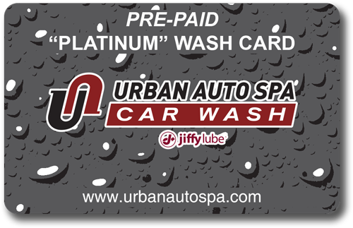 Platinum Wash Card